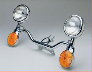 National Cycle Chrome Spotlight Bar for for Cruiser - Fully Assembled N932