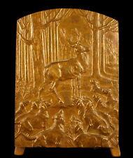 Médaille la chasse à courre le cerf le sanglier la venerie sc Ch Virion medal