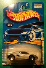 2001 HOT WHEELS FIRST EDITIONS LOTUS M250 #25 SILVER 5 SPOKE 13 OF 36