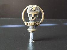 MACCHINA Per Tatuaggi personalizzati pollice in ottone/Vice a vite NO19-usato pezzi di ricambio-INK-FRAME -