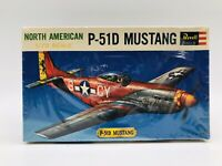 Revell NORTH AMERICAN P-51D MUSTANG 1/72 Scale Plastic Model Kit  1963 SEALED