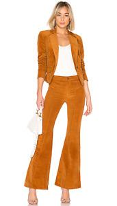 NWT Free People Heidi Cord Suit Pinterest Retro Flare Pants/Blazer Jacket $198