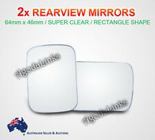2x Car Rearview Side Mirror Blind Spot Rear View Convex Wide Angle Adjustable