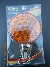 """4"""" Double Face LED Pearl Light Amber/ Red"""