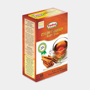 Ceylon Cinnamon tea 10 tea bags -100% Natural Ayurwedic herbal high quality