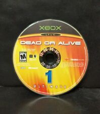 Dead or Alive Ultimate (Microsoft Xbox, 2004) Disc 1 Only
