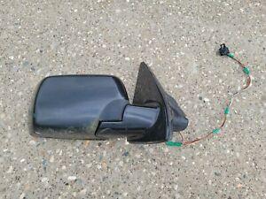 ✅2000-2006 BMW E53 X5 Right Passenger Side View Door Mirror Black OEM 2 plugs