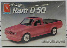 DODGE RAM 50 PINK PICKUP TRUCK BOYS GIRL D D50 1988 MOPAR SEALED AMT MODEL KIT