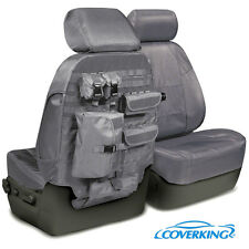 NEW Tactical Ballistic Charcoal Gray Seat Covers w/Molle System / 5102071-12