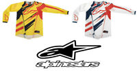 Alpinestars Techstar Jersey Motocross Mx Enduro Mtb Dh Genuine UK Stock