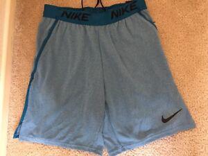 *BRAND NEW* Men Nike Training Dri Fit Coupe Shorts Blue/Teal Sz Med CZ1269-301