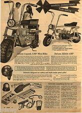1970 ADVERTISEMENT Montgomery Ward Mini Bike Jackshaft Power Train XE424