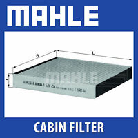 MAHLE Carbon Activated Pollen Air Filter (Cabin Filter) - LAK454 (LAK 454)