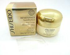 Shiseido Benefiance NutriPerfect Day Cream Broad Spectrum SPF 18 ~ 1.8 oz / BNI