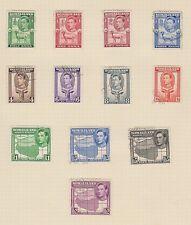 SOMALILAND 84-95 1938 Geo VI set complete used