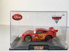 DISNEY STORE CARS 2 DIE CAST COLLECTOR CASE LIGHTNING  McQUEEN 1:43 SCALE