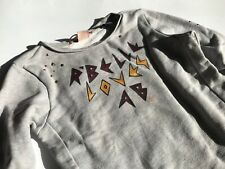 SCOTCH R'BELLE - BLAUW - SCOTCH & SODA Cooles graues Sweatshirt Gr.6/116