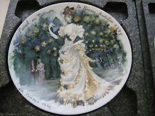 Sarah 1875 D'Arceau Limoges France Collector Plate Women Century Ganeau 1976 K