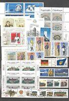 DDR  1986 postfrisch kompletter Jahrgang mit allen Einzelmarken+PF