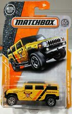 MATCHBOX MBX CONSTRUCTION SERIES HUMMER H2 SUV CONCEPT #8/20 OR #43/125