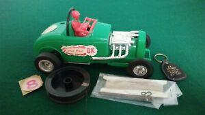 Vintage Herkimer OK Cub Hot Rod Tether Car w/.049 Engine w/Pivot & Swivel