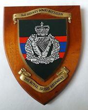 3rd Royal Irish Regiment (County Down) Plaque