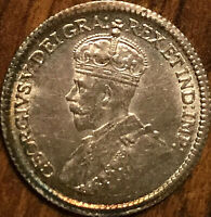 1915 CANADA SILVER 5 CENTS - Uncirculated