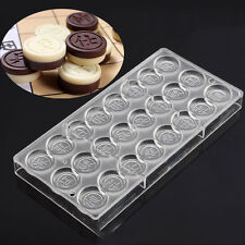 Chess Complete Set Shaped Polycarbonate PC Ice Cake Chocolate Molds Cups Mould