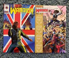 ETERNAL WARRIOR YEARBOOK #1 & #2 ONE SHOTS COMPLETE SET VALIANT 1993 & 1994