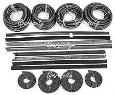 FORD DOOR BELT & DOOR SEAL KIT all 4 DOOR  XD XE XF ZJ ZK ZL 16pc rubber kit