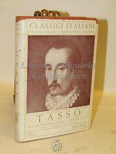 CLASSICI ITALIANI - T. Tasso - La Gerusalemme Liberata - Discorso di UGO FOSCOLO