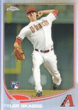 2013 Topps Chrome Baseball Refractor #88 Tyler Skaggs