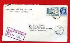 1955 OLDS, ALTA. ALBERTA Registered  Canada cover