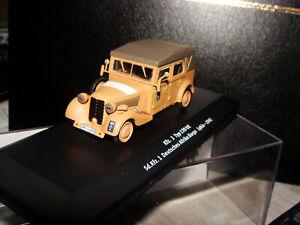 2 voitures miniatures militaires neufs en boite au 1/43