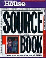 This Old House Sourcebook: Where to Find and How to Use Tools and Mate-ExLibrary
