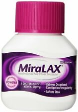 2 Pack - MiraLAX Laxatives, 4.1 Ounce (7 Day) Each