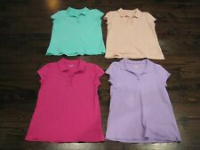 New listing Girls Short Sleeve Uniform Tops Polo Style Size 16 Children's Place Lot