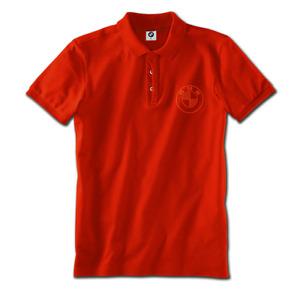 Sale !!! Original BMW Logo Poloshirt Polo Shirt Orange Größe M 80142466163