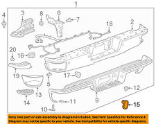 GM OEM Rear Bumper-Cap 23173340