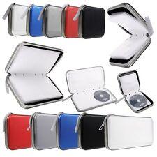 Borsa Custodia Porta CD DVD 40 80 Posti Raccoglitore Auto Cordino Zipper Case