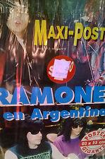 "Ramones Live in Argentina Giant Poster 31.2"" x 21.5"" Argentina"