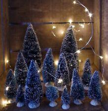 8-teiliges Set Mini Tannenbaum Weihnachtsbaum Schnee Christbaum Dekorieren Deko