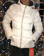 The North Face Goose Down Puffy Ski Jacket Coat Women's Medium Snow White $499
