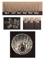 VINTAGE Pasabahce Artisan Drinking Glass Tumblers 8 oz. & 12 oz. Turkey Set of 6