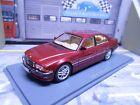 BMW 740i 7er Reihe E38 Limousine red rot met 1998 - 2001 NEO Resine 1:43