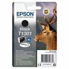 Genuine Epson T1301 DuraBrite Ultra XL Stag Black Ink Cartridge, C13T13014010