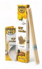✅2 Pairs HAPPY EARS Ear Candles - 100% Beeswax - ARTG 137665 - BEST PRICE!!