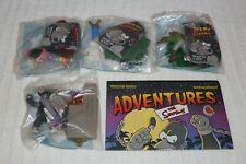 The Simpsons 2002 Creepy Classics Halloween Figures, Burger King