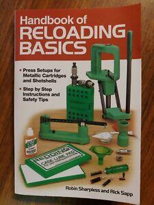 Handbook of Reloading Basics Book by Rick Sapp