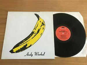 THE VELVET UNDERGROUND..ANDY WARHOL...RARE UK ISSUE ALBUM..POLYDOR...SPELP 20